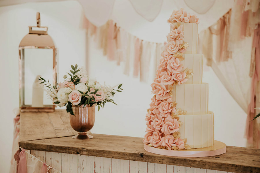 Rose gold esküvő: merész és egyedi!