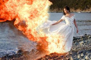 Trash The Dress fotózás – Őrült képek, menő helyszínek