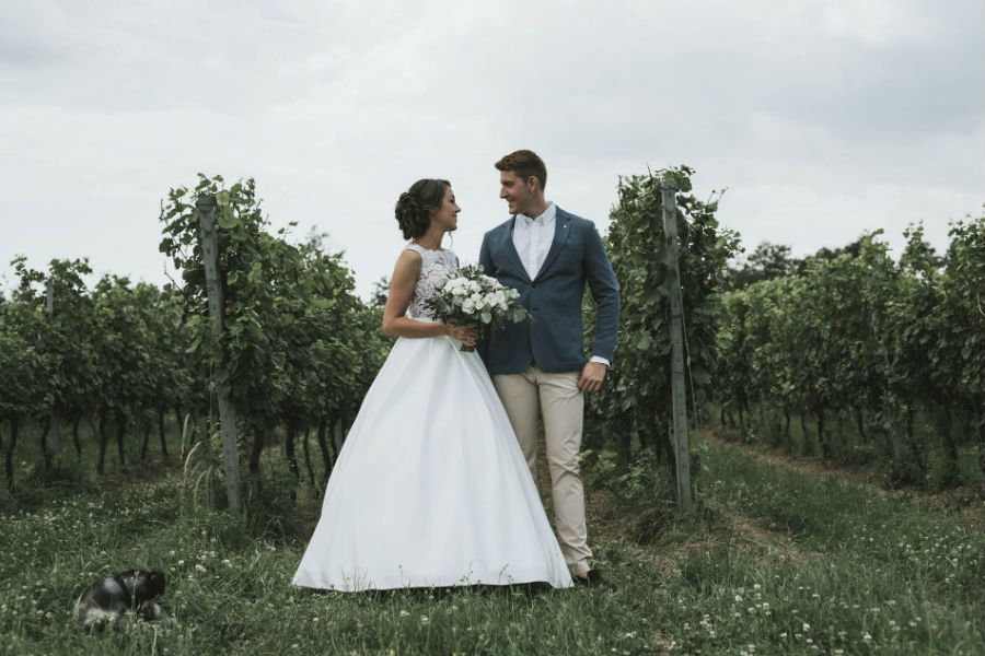 Esküvő a Kristinus Borbirtokon (Balatoni esküvő)