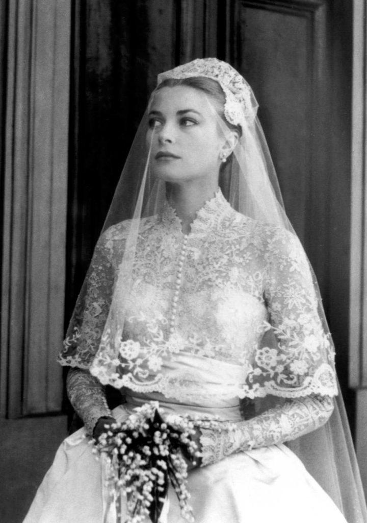 Grace Kelly menyasszonyi ruhája