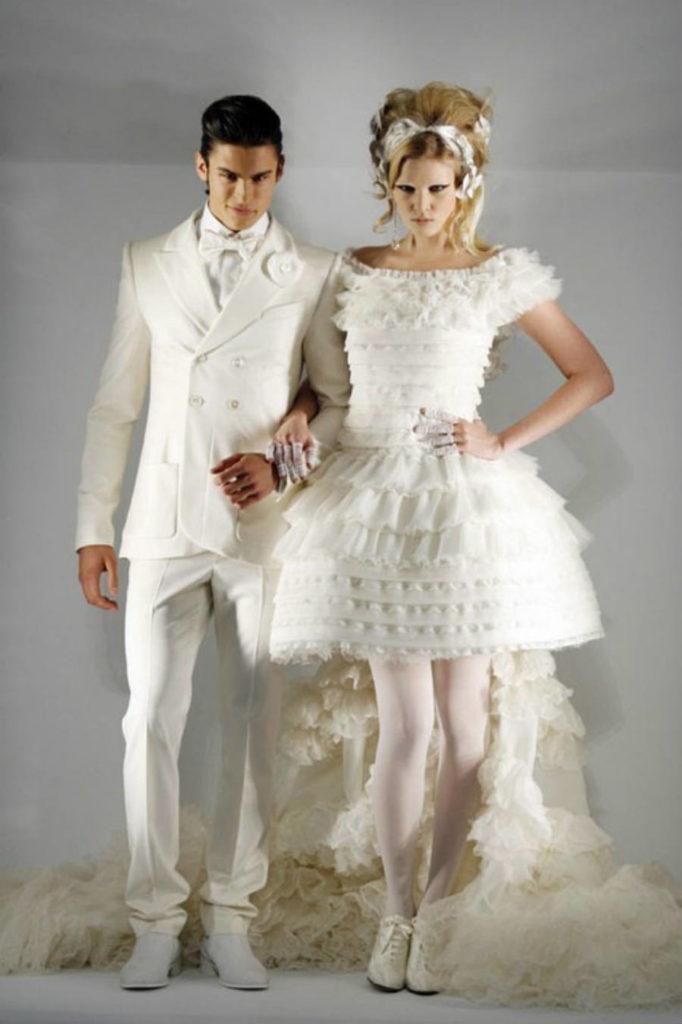 Chanel menyasszonyi ruha