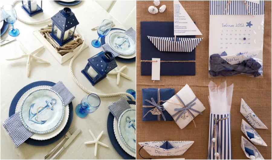 hajós esküvői dekoráció