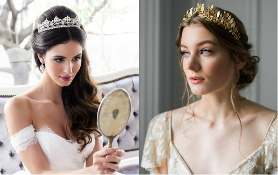 menyasszonyi tiara
