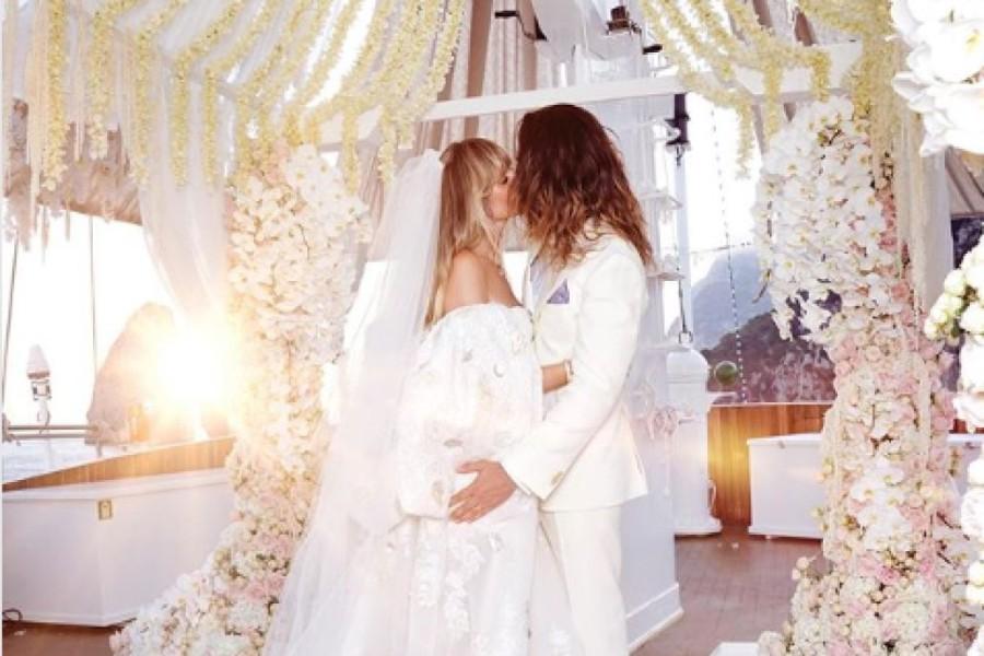 Heidi Klum második esküvője