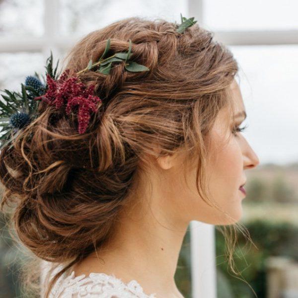esküvői próbafrizura