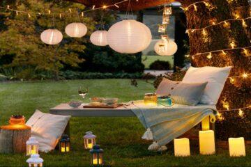 Lampion esküvői dekoráció – Vásárlás, bérlés!